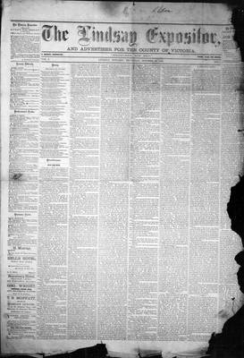 Lindsay Expositor (1869), 21 Oct 1869