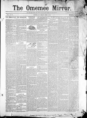 Omemee Mirror (1894), 13 Apr 1894
