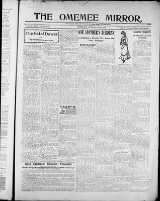Omemee Mirror (1894), 8 May 1902