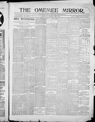 Omemee Mirror (1894), 29 Jun 1899