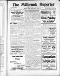 Millbrook Reporter (1856), 7 Mar 1957