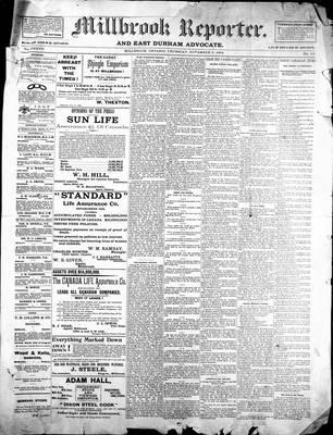 Millbrook Reporter (1856), 8 Nov 1894