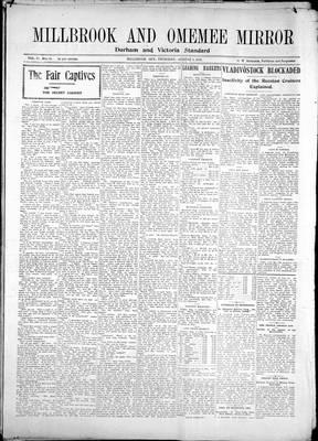 Millbrook & Omemee Mirror (1905), 3 Aug 1905