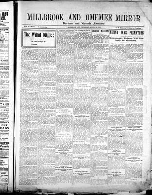 Millbrook & Omemee Mirror (1905), 9 Aug 1906