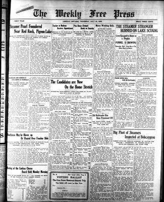 Lindsay Weekly Free Press (1908), 23 Jul 1908