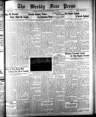 Lindsay Weekly Free Press (1908), 17 Sep 1908
