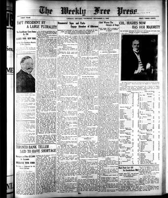 Lindsay Weekly Free Press (1908), 5 Nov 1908