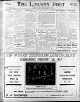 Lindsay Post (1907), 6 Jan 1911