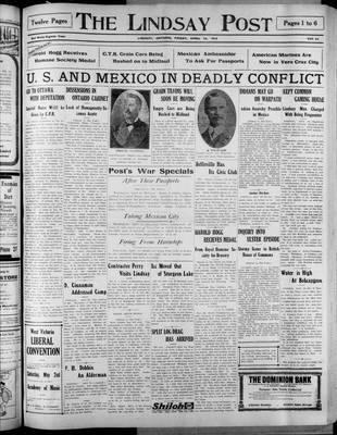 Lindsay Post (1907), 24 Apr 1914
