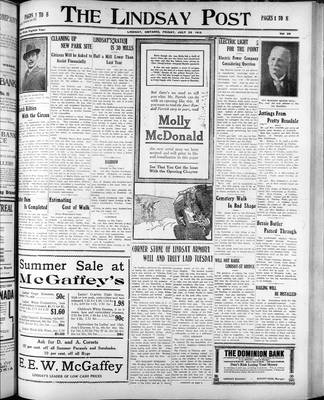 Lindsay Post (1907), 25 Jul 1913