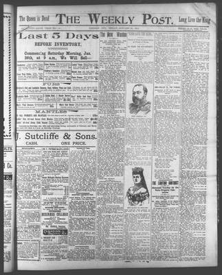 Lindsay Weekly Post (1898), 25 Jan 1901