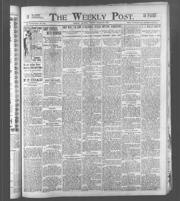 Lindsay Weekly Post (1898), 24 Mar 1905