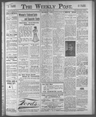 Lindsay Weekly Post (1898), 5 Apr 1907