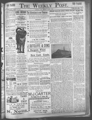 Lindsay Weekly Post (1898), 8 Jun 1900
