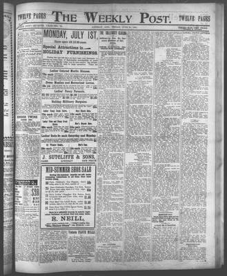 Lindsay Weekly Post (1898), 28 Jun 1901