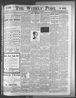 Lindsay Weekly Post (1898), 29 Jul 1904