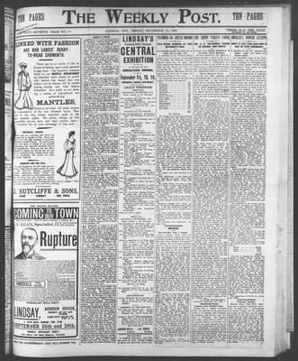 Lindsay Weekly Post (1898), 11 Sep 1903