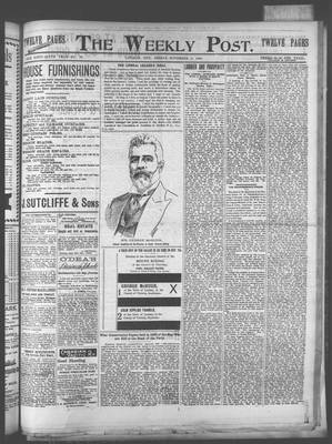 Lindsay Weekly Post (1898), 2 Nov 1900