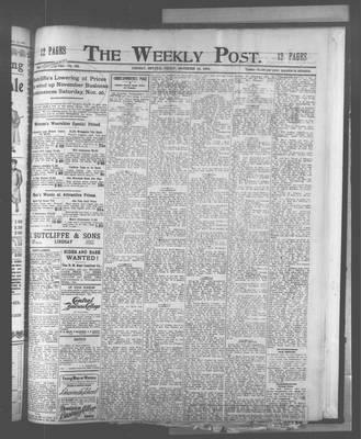 Lindsay Weekly Post (1898), 25 Nov 1904