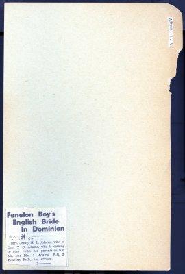 Page 25: Adams, T. O.