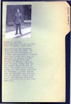 Page 37: Alcorn, James F.