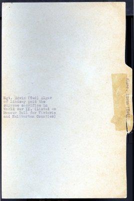 Page 43: Algar, Edwin (Ted)