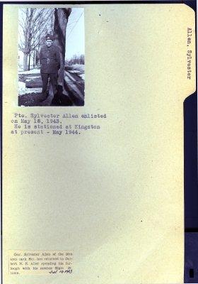 Allen, Sylvester