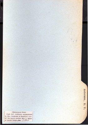 Page 73: Anderson, E. C.