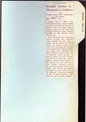 Page 103: Archer, Ronald