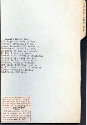 Page 107: Armitage, Helen Jean