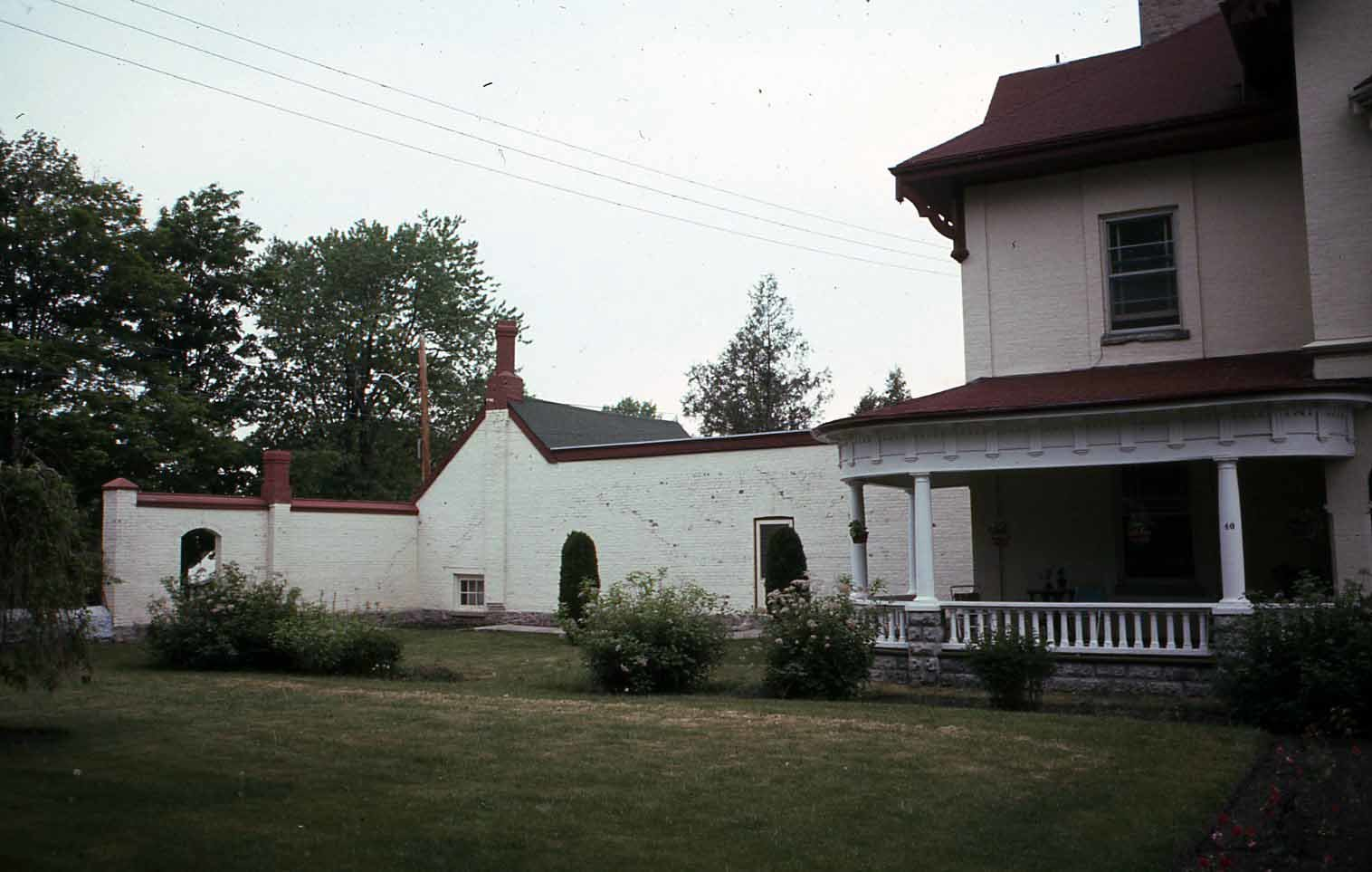 West wing, St. Mary's Church Rectory, Lindsay