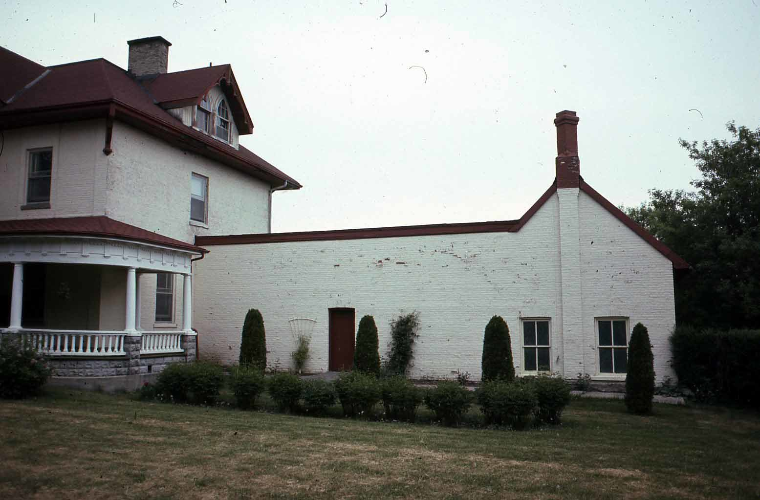 East wing, St. Mary's Church Rectory, Lindsay