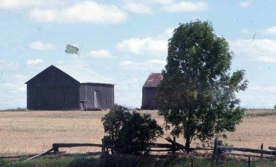English barns, unknown location