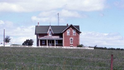 Farm house, location unknown