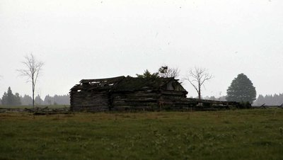 Log cabin, 5th Line, Carden Township