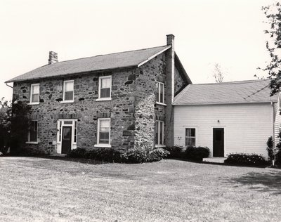 Stone house, Ops Township