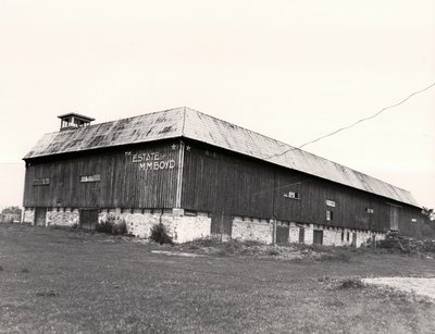 Boyd Barn, Highway 36, Bobcaygeon