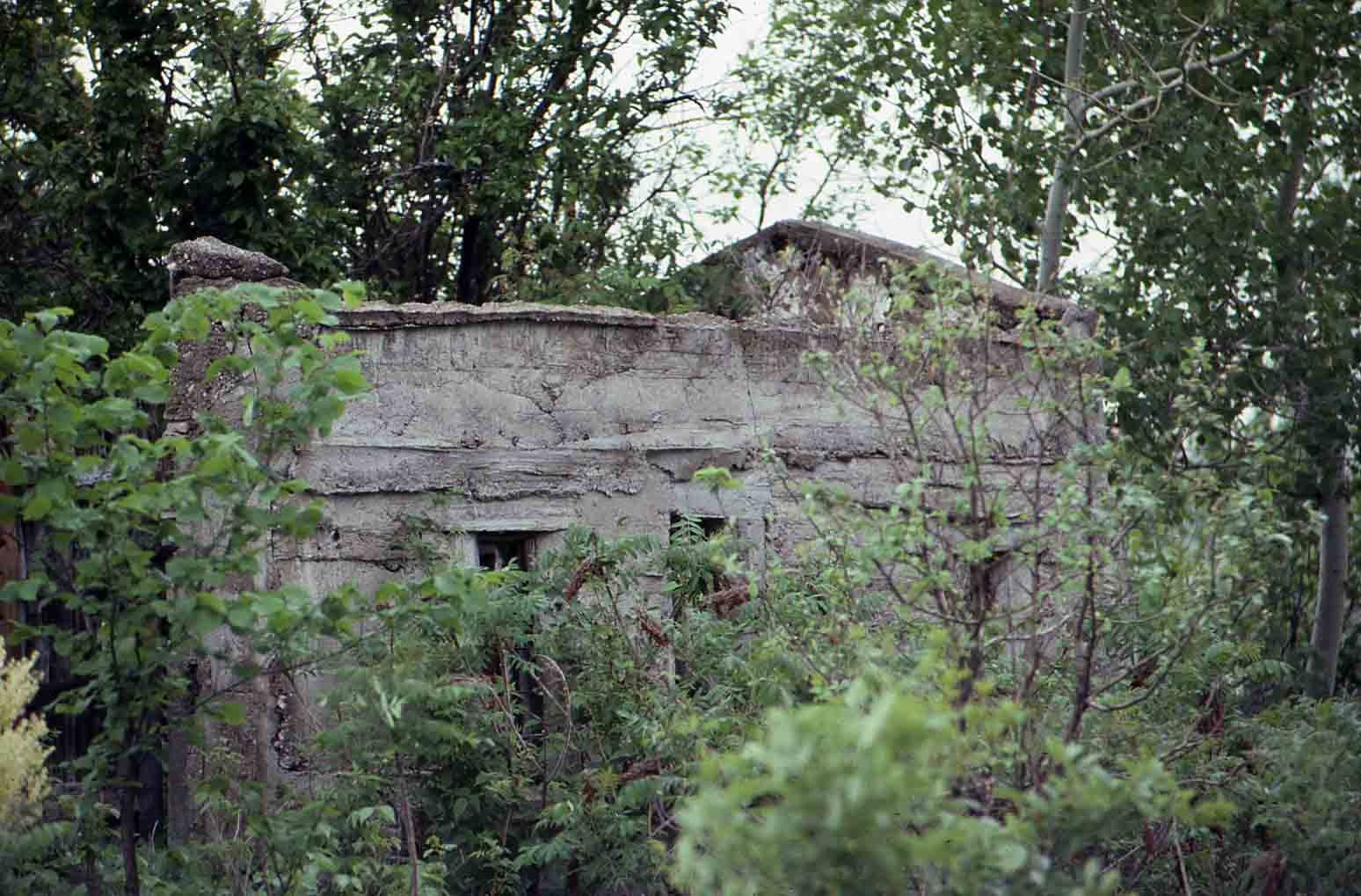 Building ruins, location unknown