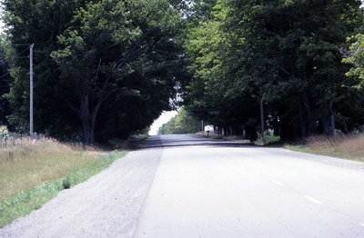 Country road, unknown location