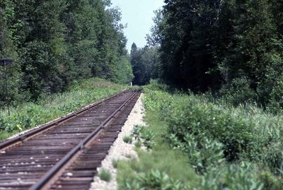 Train tracks, Location unknown