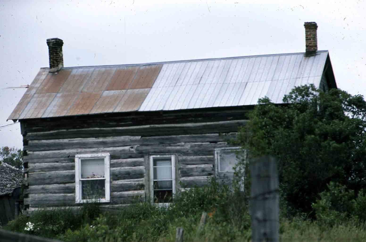 Log cabin, Location unknown
