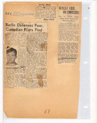 Page 67: Berlin Defenses Poor, Canadian Fliers Find