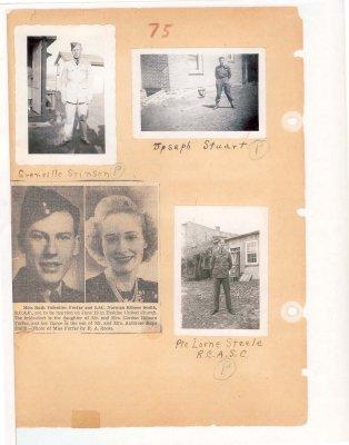 Page 70: Stinson, Stuart,  Forfar, Smith, Steele