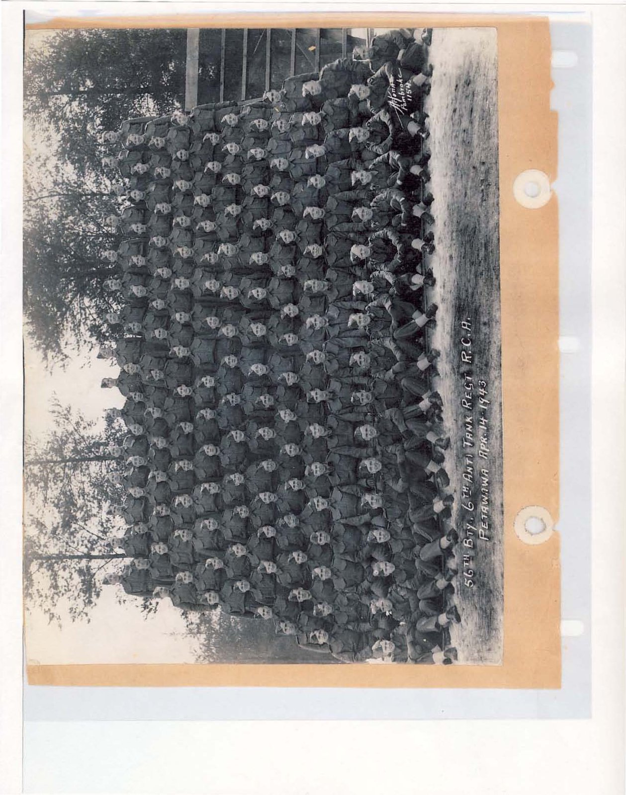 Page 76: 56th Battery 6th Anti Tank Regiment, Royal Canadian Army