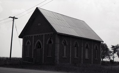 Graham's Church, Elm Tree Road, Ops Township