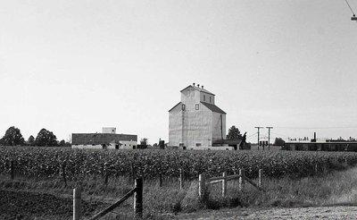 Grain elevator, unknown location