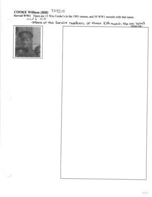 Page 175: Cooke, William (Bill)