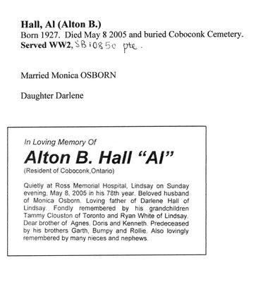 Page 231: Hall, Al (Alton B.)