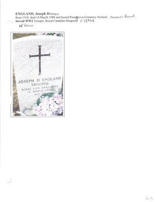 Page 213: England, Joseph Duncan