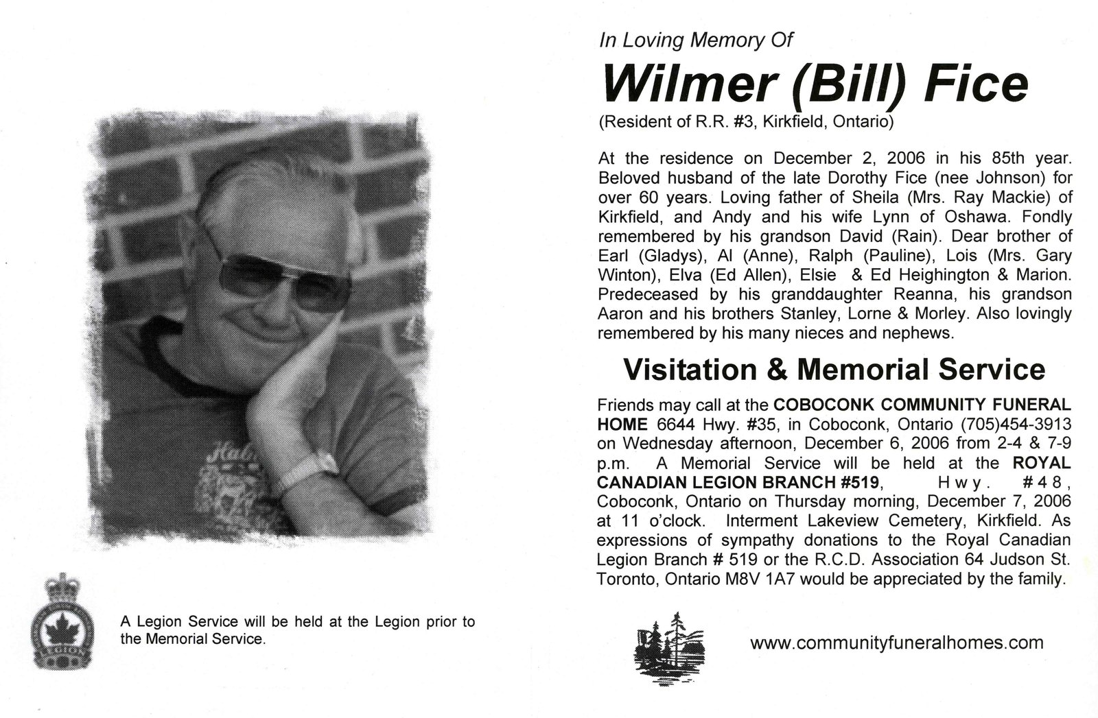 Pages 217-218: Fice, Bill (Wilmer)